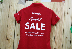 Áo Thun Công ty TOMEI gold & jewellery