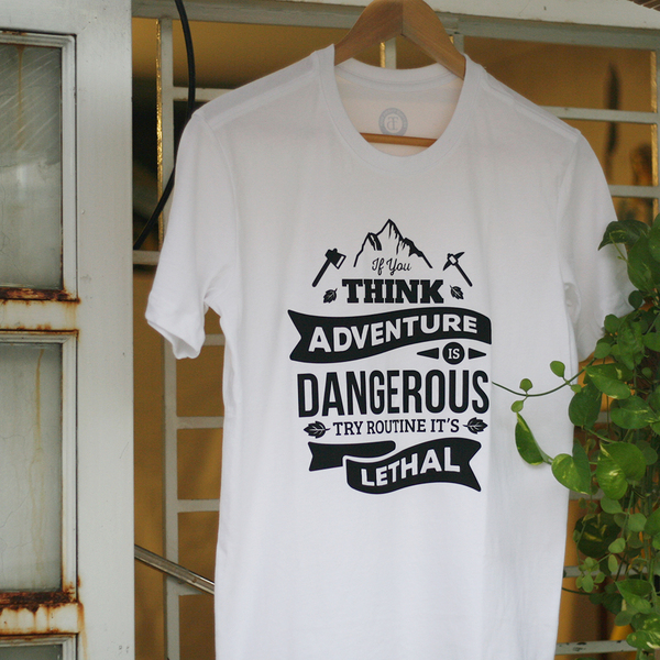 In Áo Thun - If you think adventure