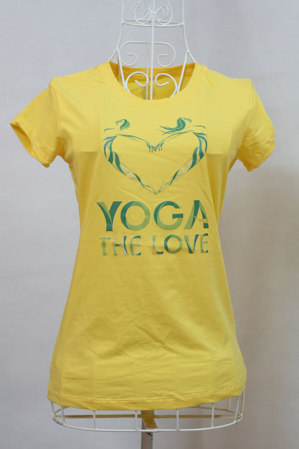 Áo Thun Yoga - Yoga the love
