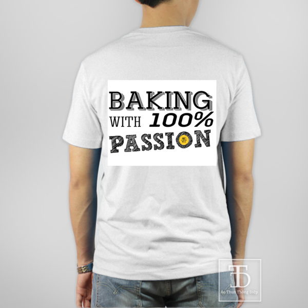 BAKING WITH 100% PASSION
