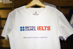 MAY IN ĐỒNG PHỤC TRUNG TÂM IELTS BRITISH COUNCIL