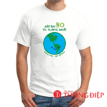 Say NO to plastic bags!