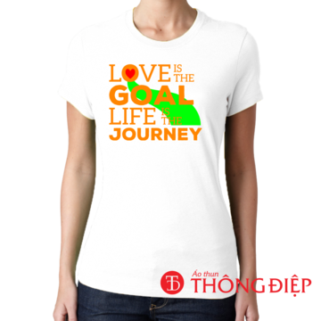 Love is the goal. Life is the journey