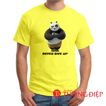 Never give up! - Kung Fu Panda