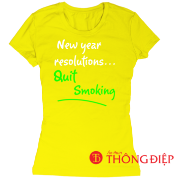 New year resolution...QUIT SMOKING!