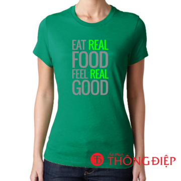 Eat real food - Feel real good.