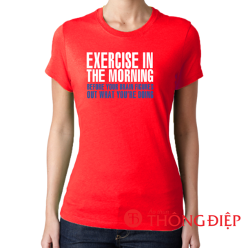 Exercise in the moring