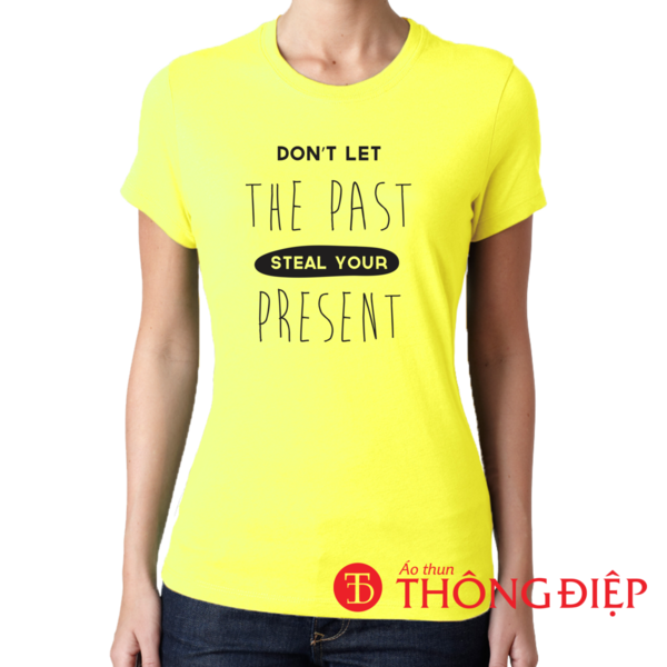 Don't let the past steal your present
